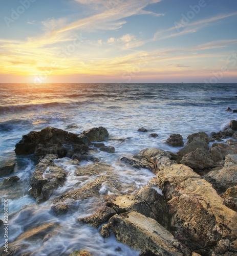 Leinwanddruck Bild Beautiful seascape.