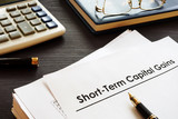 Documents about Short term capital gains STCG. - 220607013