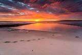 Glorious sunrise and ocean rock pool beach Cronulla - 220613831
