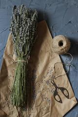 dried lavender flower