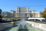 Parliament building in Bucharest Romania - 220633223