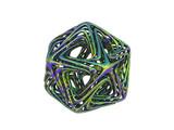 Grün blaue Draht Kugel - 220634418