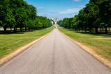 Long walk in Windsor castle, uk, london in summer - 220638032