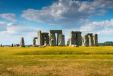 Stonehenge, england, UK in summer - 220638038