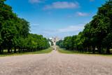 Long walk in Windsor castle, uk, london in summer - 220638079