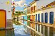 Quadro Streets of Colonial Paraty