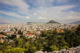 Athens old city panorama, Greece