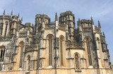 Batalha Monastery,Portugal. Originally, and officially known, as the Monastery of Saint Mary of the Victory. UNESCO World Heritage Site. - 220686645