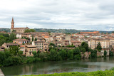 City view of the french city of Albi - 220688614