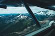 Bush Plane Views of Mountains