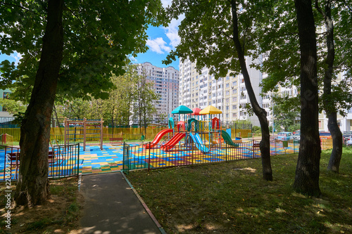 Playground in Moscow