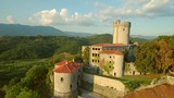 Medieval castle Branik in Slovenia central europe - 220695647