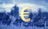 Euro currency as a global means of payment.3d illustration - 220696638