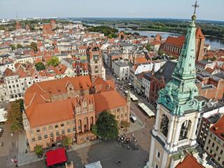 Town Hall in Torun, Poland