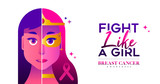 Breast Cancer Awareness concept for women fight - 220710294