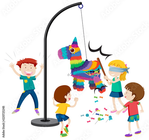Hit the pinata game - 220725248