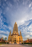 Wat Mahathat Wachiramongkol Former name (Wat Bang Tong) is located Krabi,The environment is rubber plantation. And oil palm plantation, a towering pagoda is beautiful, tourists are always watching. - 220734683