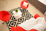 Interior of beautiful modern room - 220752057