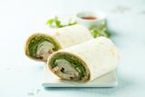 Homemade chicken wraps - 220766825