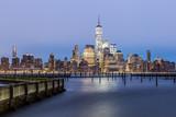 Lower Manhattan Skyline from Jersey City (before dawn) - 220769008