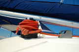 Ropes on a yacht - 220776280