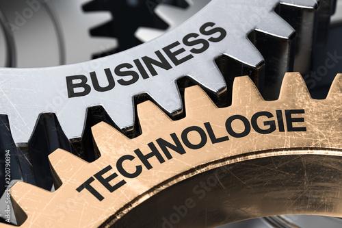 3d ilustracja przygotowywa biznesową technologię