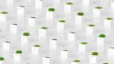 Plant green concept..3d illustration, 3d rendering.