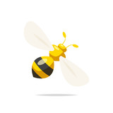 Wasp vector isolated - 220823609