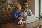 Couple with laptop - 220829676