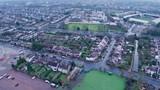 Aerial View of M3 , near Twickenham Stadium, London, United Kingdom - 220836021