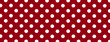 Red Polka Dot Banner