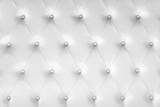 Luxury soft leather background, white headboard - 220883485