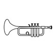 line music trumpet instrument artistic melody