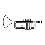 line music trumpet instrument artistic melody - 220891017