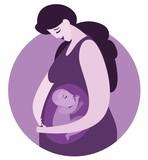 pregnant happy mother - 220894879