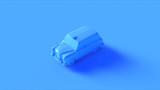 Blue Black Cab 3d illustration 3d rendering - 220906846