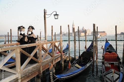 Maskierte, Carneval in Venedig, Venetien, Italien, Europa - 220913261