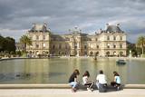 Grand bassin du jardin du Luxembourg à Paris, France - 220921000