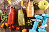 fresh smoothie, healthy lifestyle concept - 220931430