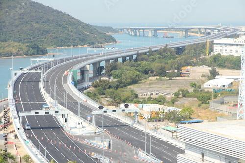 obraz lub plakat Hong Kong – Zhuhai – Macao Bridge
