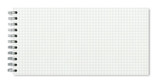 Carnet à spirales à carreaux - 220936476