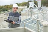 cement inspection on progress - 220944232