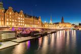 Copenhagen denmark night - 220959609