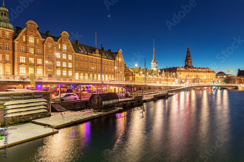 Copenhagen denmark night