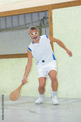 man playing pala - 220965615