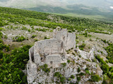 Glavaš – Dinarić (Glavas – Dinaric) Fortress is a fortress located in the continental part of Dalmatia, Croatia. It was built in the 15th century, when the region was threatened by Turkish invasions. - 220974403