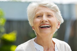 Senior woman laughing - 220988682