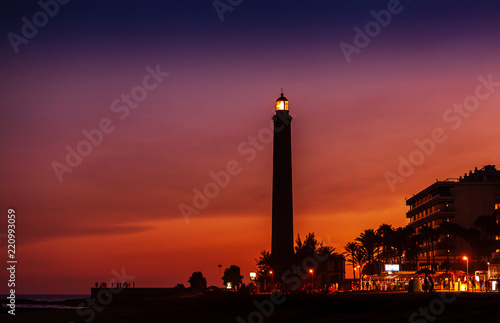 The Maspalomas Lighthouse