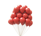 Red balloons - 220996800
