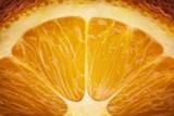 Orange slice background. Abstract macro shoot.